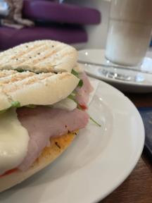 Lunch antes de el último vuelo