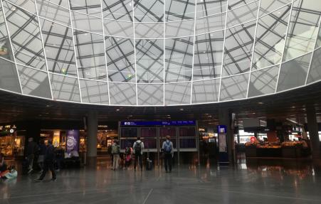 hola aeropuerto de Frankfurt