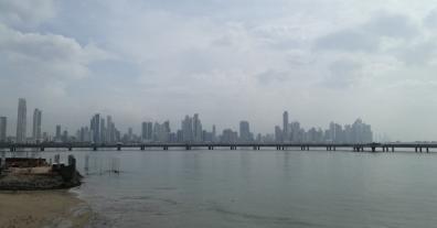 La vista del Skyline desde el casco
