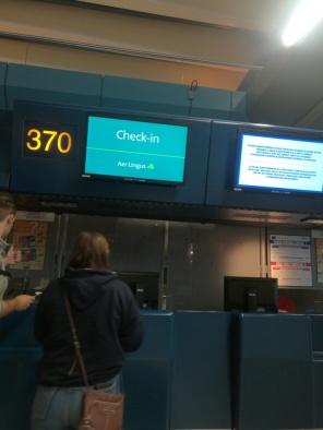 Checking into Aer Lingus