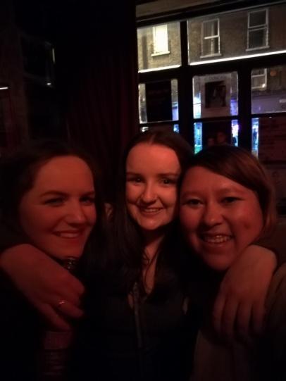 Con Rachel y Siobhan