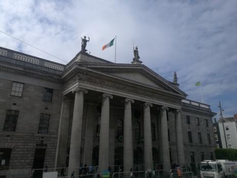 El edificio del parlamento