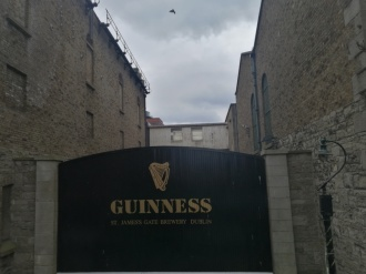 El mítico porton de Guinness